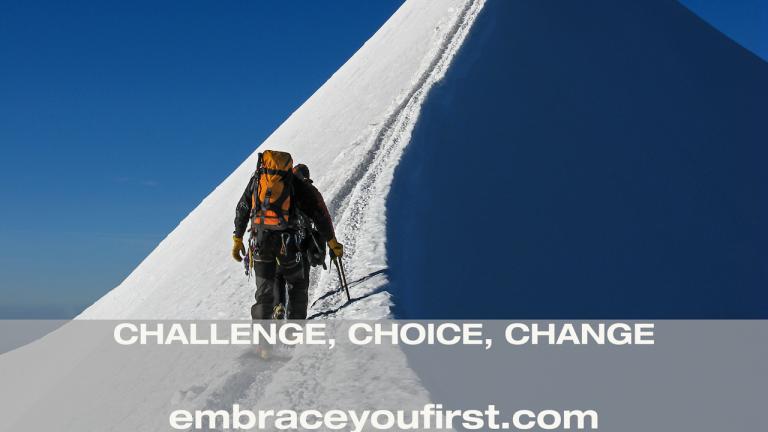 Episode 40: Challenge, Choice, Change (ft. Luis Benitez)