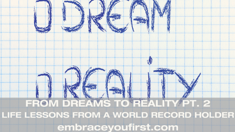 Episode 51: From Dreams to Reality Pt. 2, Life lessons from a Guinness Record holder (ft. Michelle Kakade)