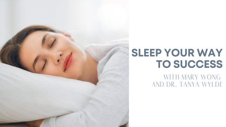 Episode 13: Sleep Your Way to Success